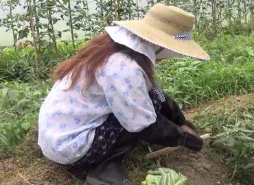 【無修正】農家のおばさんの自宅にお邪魔して中出しセックス