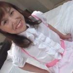 メイドコスプレをして興奮した50代熟女にハメまくる無料omannko動画